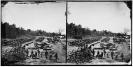 Broadway Landing, Appomattox River, Virginia. Park of artillery