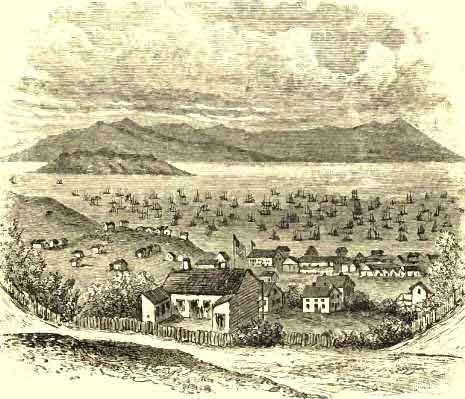 The Site of San Francisco in 1848