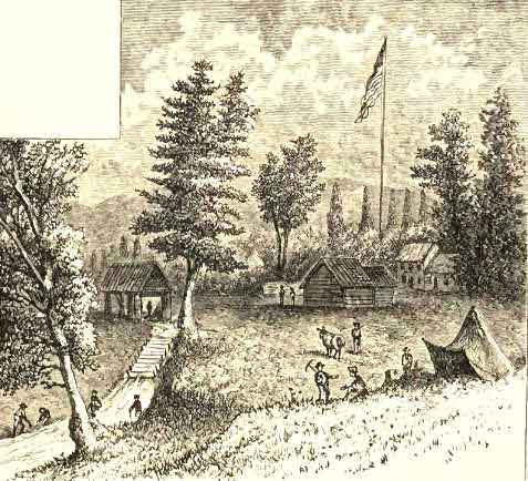 Sutter's Mill, California, where Gold was First Discovered