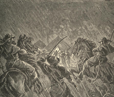 General J.E.B. Stuarts Raid upon Popes Headquarters, August 22, 1862