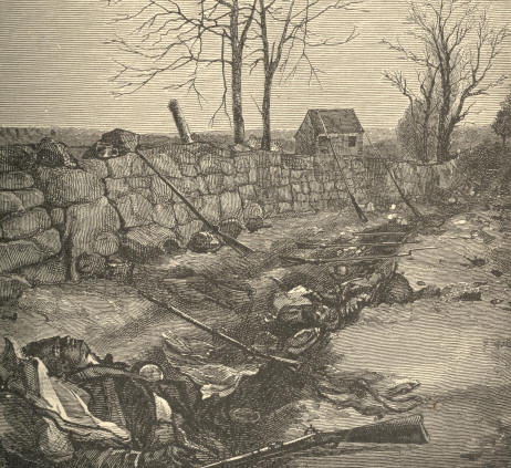 The Stone Wall at Fredericksburg