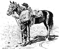 Union cavalryman by Walton Taber